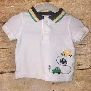 Gymboree baby boy polo shirt